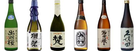 4-sake-bottles-Franklin-Liquors