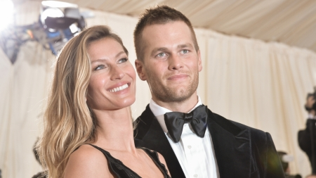 "Gisele BŸndchen and Tom Brady attend the ""Charles James: Beyond Fashion"" Costume Institute Gala at the Metropolitan Museum of Art on May 5, 2014 in New York City. (Photo by Andrew H. Walker/Getty Images)"