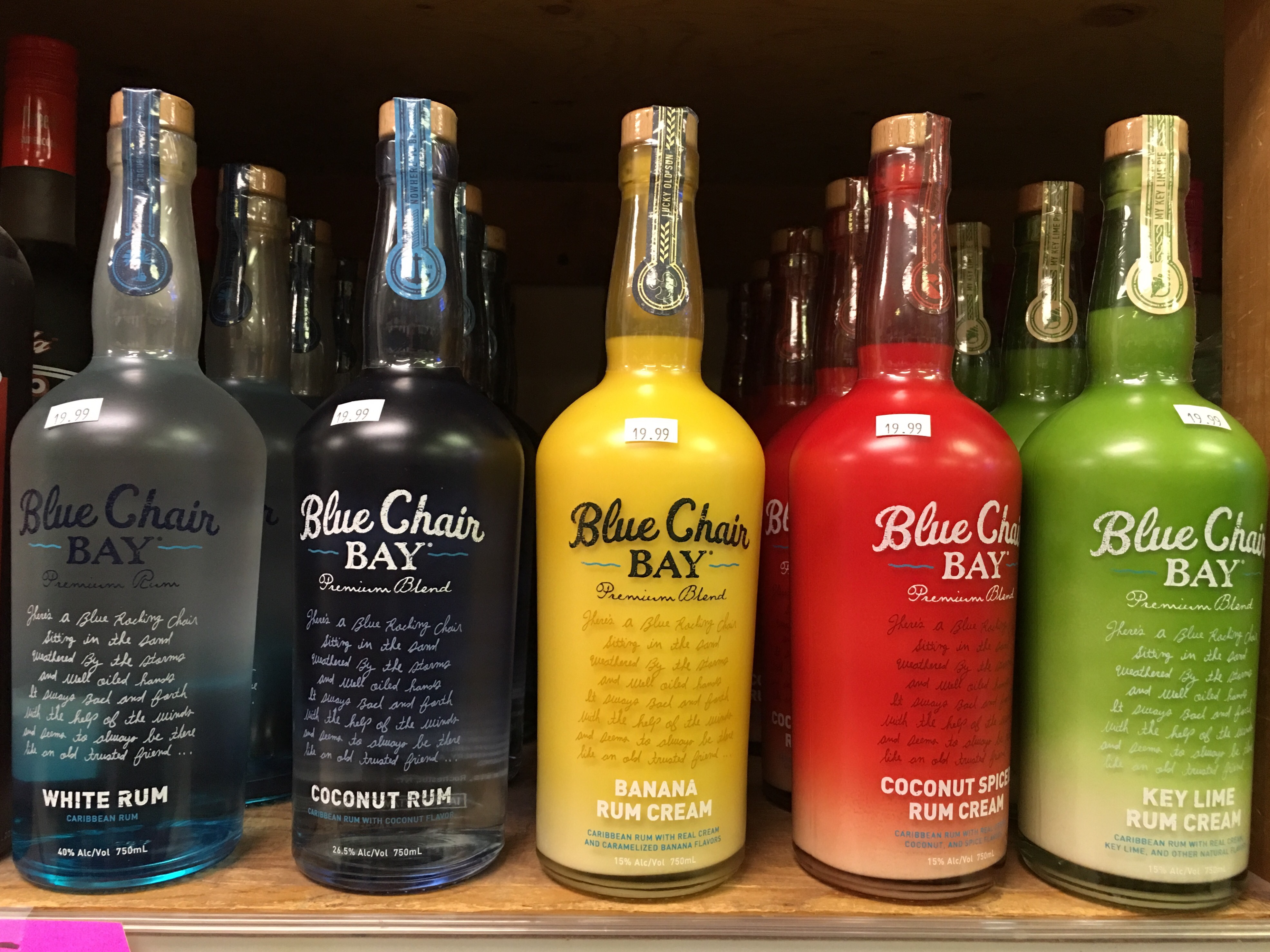 Kenny Chesney Blue Chair Bay Rums & Kenny Chesney Blue Chair Bay Rums | Franklin Liquors