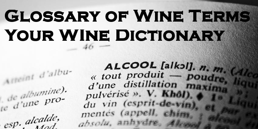 159-Wine Terms